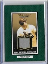 MARK TEIXEIRA 2005 UPPER DECK ORIGINS OLD JUDGE GAME USED JERSEY