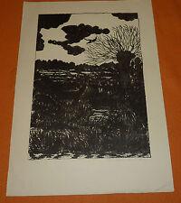 Im Moor Worpswede Teufelsmoor Grafik (5/30) Expressionismus Emmi Rose Dortmund