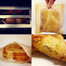 2PCS Reusable Non Stick Baked Toast Bread Bags Grilled Cheese Sandwiches