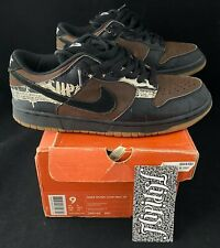 VTG NIKE SB DUNK LOW ZOO YORK LIMITED EDITION CHOCOLATE FORBES RARE CO JP SZ 9