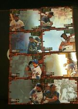 1994 Home Run All-Stars Collectors Choice Baseball Cards Lot of 8 Griffey-Bonds