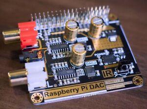 Raspberry Pi HAT - Dual ESS9023 DAC DSD 128 24-bit 192kHz Hifiberry compatible