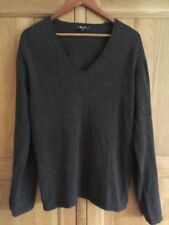 Mens Monsoon Jumper Sweater  - Brown  - 100% Lambswool   Size Medium