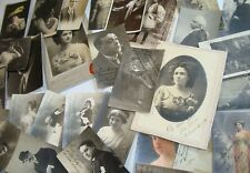 GREAT LOT 30 Autographs CA1900 Opera GUARDIA VECLA CRABBE SPAIN ITALY ARGENTINA