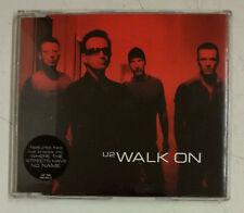 U2 Walk On Cd-Single UK 2001 Portada roja
