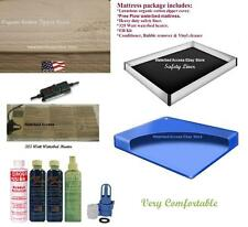 Cal. King Free Flow Waterbed Mattress Kit W/ Cotton Zipper Cover,liner & Heater