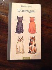 F. CAGNONI QUATTRO GATTI  ZELIG EDITORE 1995