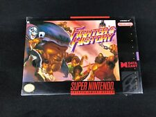 Fighter's History Super Nintendo New Sealed SNES
