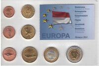 MONACO PROBE PATTERN ESSAI 8 DIF SET 0.01 - 2 XEROS (EURO) 2011 YEAR