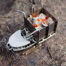 Outdoor Wood-burning Stove Portable Firewood Furnace Picnic BBQ Barbecue Grill