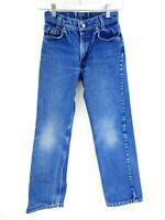 VTG Levi's Student 318 Medium Wash Denim Bootcut Jeans Size 24x24