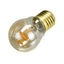 1 x  Philips Vintage LED Flame Golf Ball Bulb (3.5w, E27, 2000k, Dimmable)