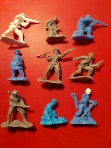 54mm Plastic American Civil War Figures
