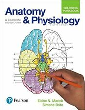 Anatomy and Physiology Coloring Workbook 12e Global Edition