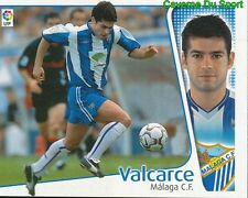 VALARCE ESPANA MALAGA.CF CROMO STICKER LIGA ESTE 2005 PANINI