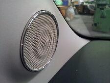 FIAT 500 * ABARTH CROMO * * Anelli in alluminio * 2 aluringe * BOX ANELLI ornamentali *