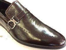 ITALIANO Designer Sneaker fatto mano fatto a mano BASSI suola marrone LACCA 45