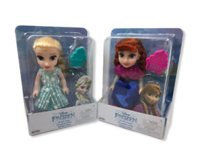 Disney Frozen Petite Anna & Elsa Toddler Dolls, new in boxes. Come Play With Me.