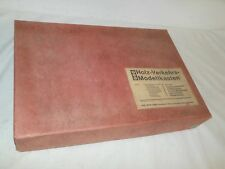 VINTAGE fahrschul Modelo Set - Madera Rojo Amarillo Verde EDITORIAL BRUNSWICK