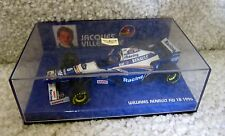 1996 JACQUES VILLENEUVE 1/43 MINICHAMPS PAULS MODEL ART #6 WILLIAMS FW18
