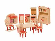 Goki 51951 - Mobili per Casa delle Bambole cucina 11 pezzi