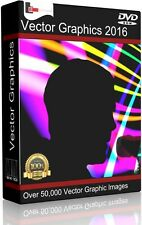 Over 50,000 Vector Vinyl Plotter Cutter DVD Over 3GB Image files EPS SVG AI