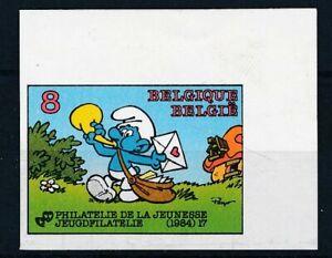 [35098] Belgium 1984 Strip Good imperforated stamp Very Fine