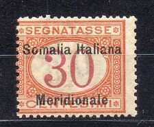FRANCOBOLLI 1906 SOMALIA SEGNATASSE 30 CENTESIMI MNH D/9660