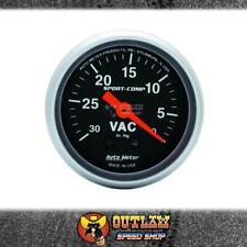 "AUTOMETER VACUUM GAUGE MECHANICAL 2-1/16"" 30 IN HG - AU3384"