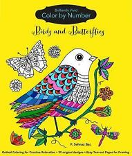 Brilliantly Vivid Color by Number: Brilliantly Vivid Color-By-Number: Birds...
