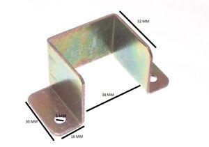 Bed Bracket 36mm X 33mm X 28mm YZP Steel Pack Of 20