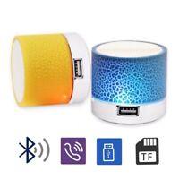 Bluetooth Speaker Led Portable Mini Wireless Speaker Player USB Radio Fm Mp3 Mus