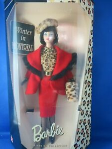 City Seasons Winter in Montreal Collector Edition Barbie