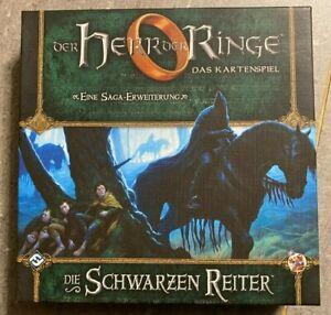 Der Herr der Ringe Kartenspiel LCG: Die schwarzen Reiter Saga Erweiterung geslee
