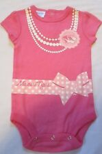 UNIVERSITY OF MISSOURI INFANT GIRLS BODYSUIT SIZE 3-6 MONTHS NWT PINK