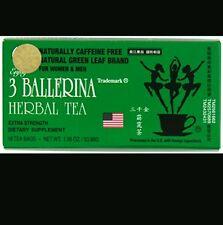 3 Ballerina  Herbal Tea18 Tea Bags 1.88 Oz  FREE SHIPPING!
