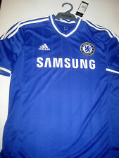 CHELSEA- DIEGO COSTA HAND SIGNED CHELSEA JERSEY+ PHOTO PROOF + C.O.A