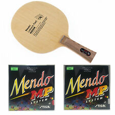 Nittaku Ludeack Fleet + Stiga Mendo Rubbers Table Tennis Racket Combo!