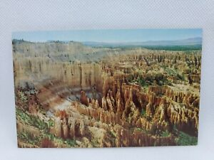 Vintage View From Bryce Point Bryce Canyon National Park Utah Postcard