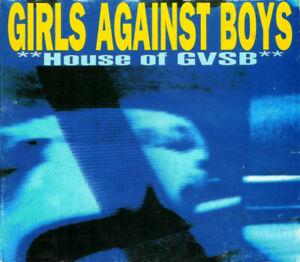 GIRLS AGAINST BOYS - HOUSE OF GVSB - CD ALBUM - FREE UK POST