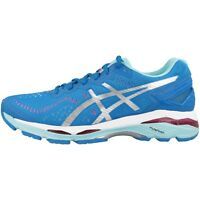 Asics Gel-Kayano 23 Women Damen Laufschuhe blue silver aqua T696N-4393 Running