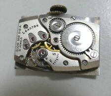 Vintage Lord Elgin 559 u-s-a watch movement 21 Jewels fully working (e35)