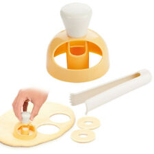 cuisine CREUX PLASTIQUE Donut Moule Pâtisserie Gâteau plats à four Décoration
