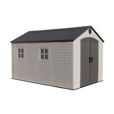 Lifetime Products 8' x 12.5', Resin Outdoor Storage Shed