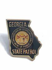 Georgia State Patrol Pin GA Department Of Public Safety Trading Pinback