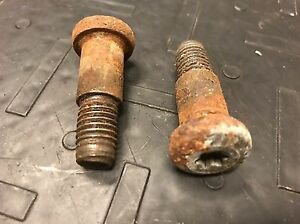1978-1987 Grand National T-Type FRONT REAR Seat Belt Strap Latch Buckle BOLTS
