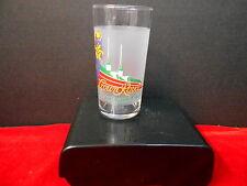 """CROWN ROYAL 1996 """"AMERICAN TURF"""" CHURCHILL DOWNS GLASS"""