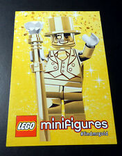 "LEGO Series 10 Mr. Gold minifigure Sticker 4"" X 6"""