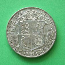 1923 George V Silver Half-Crown SNo19038
