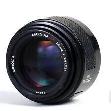 ^ Minolta Maxxum 50mm f1.4 AF Prime Lens [FPR - Read] A Mount